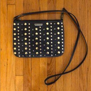Rebecca Minkoff Studded Crossbody Bag Navy